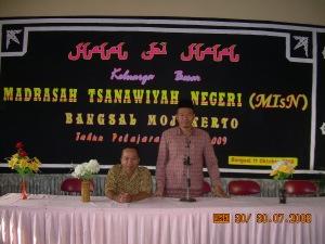 Kegiatan halal bihalal tahun 2008