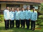 Pimpinan MTsN Bangsal tahun pelajaran 2008/2009